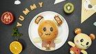 好看又好吃!巧手母亲为孩子制作卡通食物