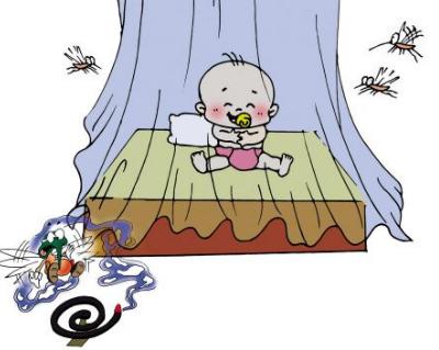 宝宝夏季防蚊指南:宝宝防蚊8个细节