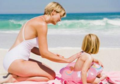 防晒品选择不当会伤害宝宝皮肤