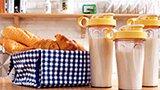 一分钟早餐-香蕉牛奶蛋白热饮