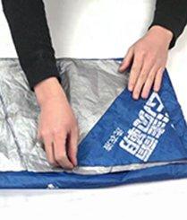 废旧雨伞秒变购物袋