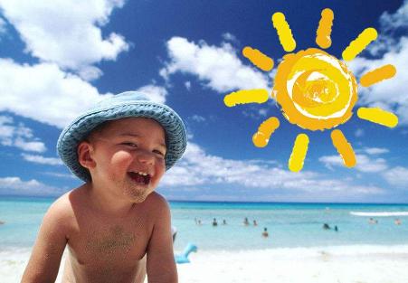夏季防晒对策 还宝宝一个开心夏季!