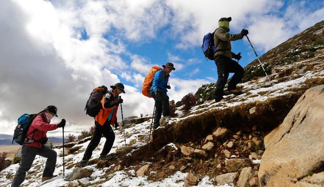 你知道人类登山为什么会伤到膝盖吗?