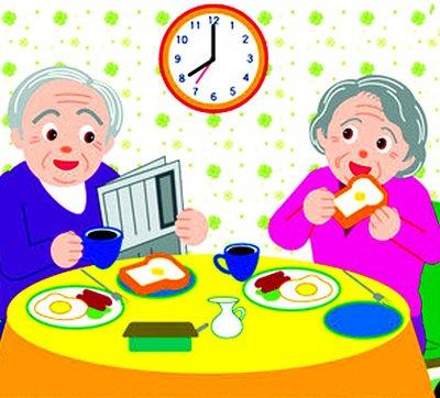 生活提示:早餐吃太快肠胃负担重 患癌风险高