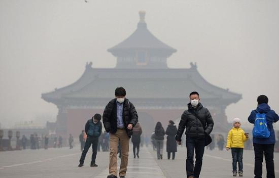 新发现:雾霾可导致肥胖