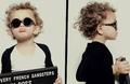 孩子过早带墨镜容易得弱视!