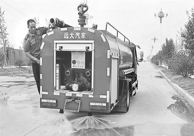 衡水市3县市乡镇配备43辆消防洒水车