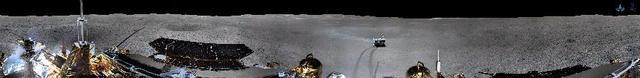 嫦娥四号着陆器月午工作正常 地形地貌相机完成环拍