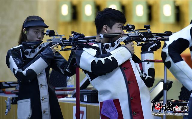 河北省第十五届运动会射击比赛结束