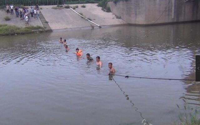 邯郸一少年陨落河流 连续40余小时营救终打捞上岸