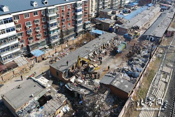 这个小区违建将被清理 和谐社区需大家文明共建