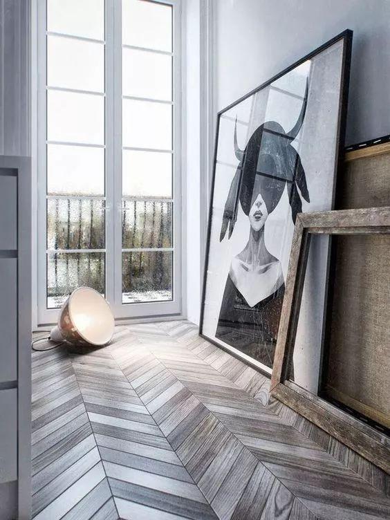 地板铺贴有这么7种方式,分分钟提升你家90%的颜值!