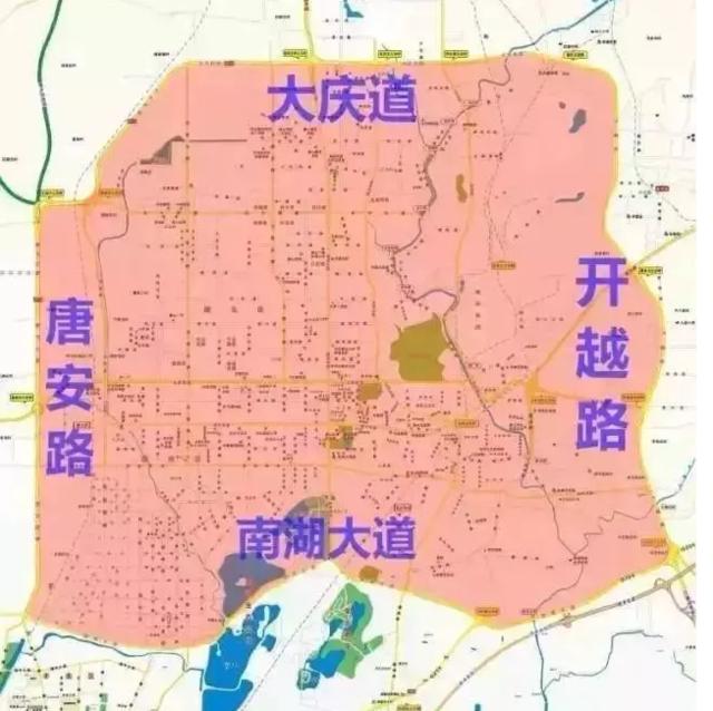 唐山公交地图高清版