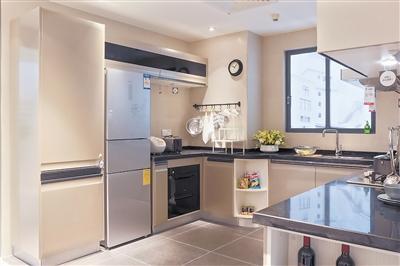 冰箱在客厅的设计图片