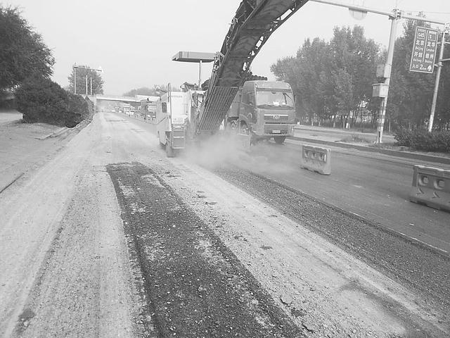 106国道衡德高速口至老盐河段分流施工