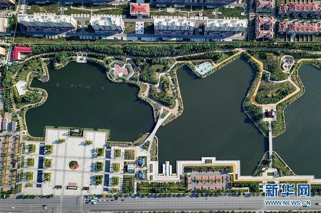 (生态)(1)河北黄骅:城市荒地变身生态公园
