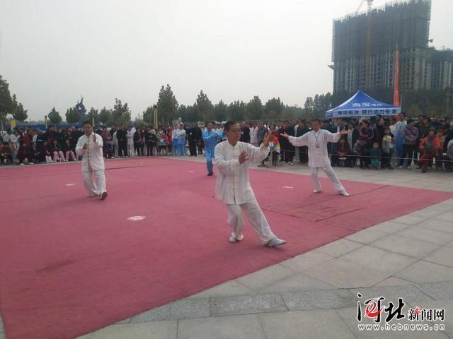 中国大运河武术文化联盟第二届武术大赛在清河县开赛