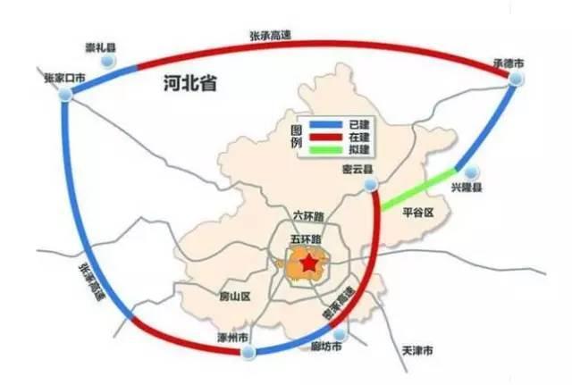 北京大七环河北段年内合龙通车 廊坊有高速口