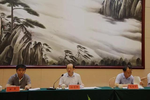 河北省生态环境大督查第五组对衡水市开展督查