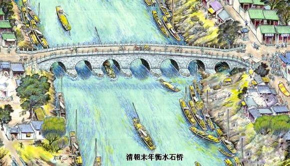 河北省现存最大的古代石桥之一衡水老桥——安济桥