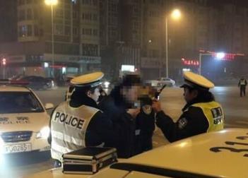 滦南一男子酒驾撞伤协警被刑拘
