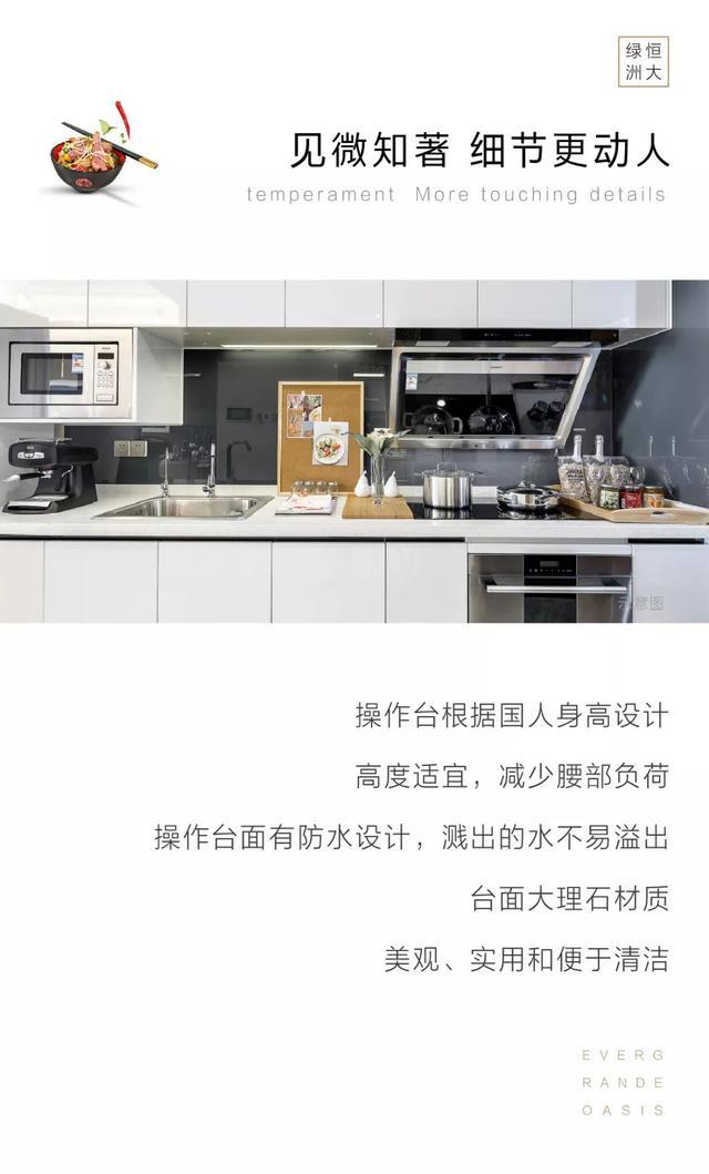 恒大装修之厨房篇 | 见微知著,烹饪幸福生活