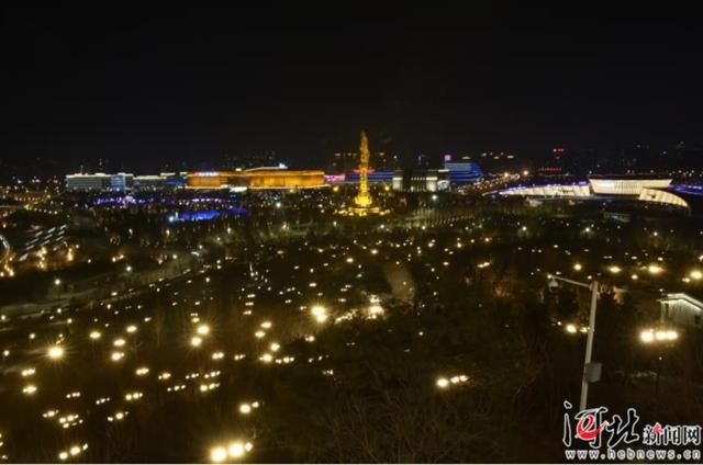 春节赏灯好去处,唐山南湖等你来