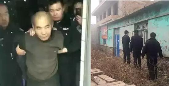 沧州悬赏通告的涉嫌抢劫强奸的通缉犯落网