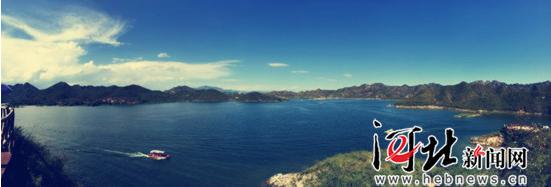 欲知易水风景美 何必千里下江南 易水湖开启暑期新体验