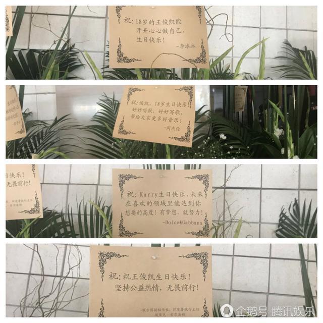 王俊凯生日会联合国副秘书长送祝福,TFboys惊喜合体