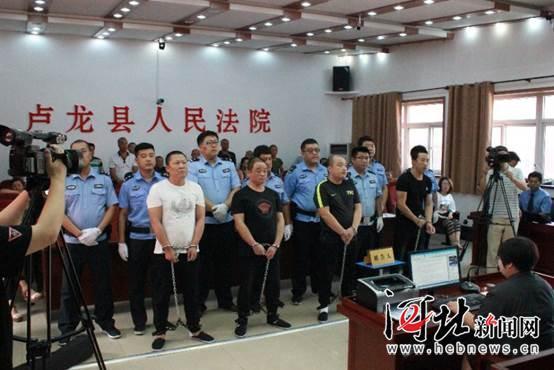 秦皇岛宣判两起涉黑恶势力犯罪案件