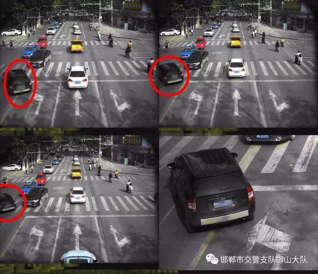 邯郸市邯山区八月份易违法路段排行榜