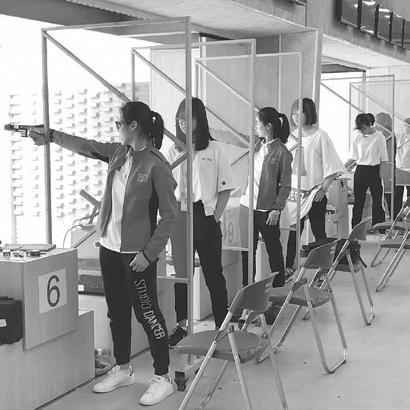 河北省青少年射击团体锦标赛衡水小将夺得七金