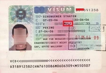 如何查看签证的有效期及入境次数?