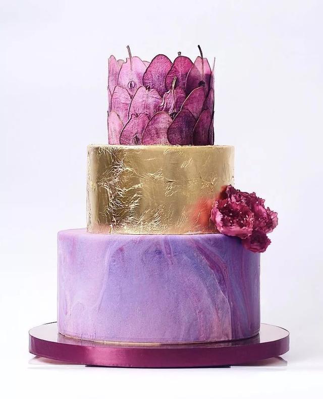 这样的蛋糕 真是精雕细琢的艺术品!