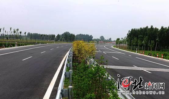 秦皇岛首个道路PPP项目全线贯通通车