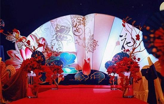 中式婚礼路引图片