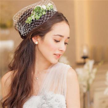 2017流行新娘造型 韩式2017新娘发型图片
