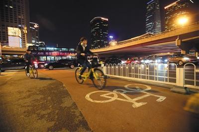 """北京首条""""自行车高速路""""明年开建"""