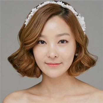 结婚当天短发怎么做新娘发型 短发新娘也可以惊艳