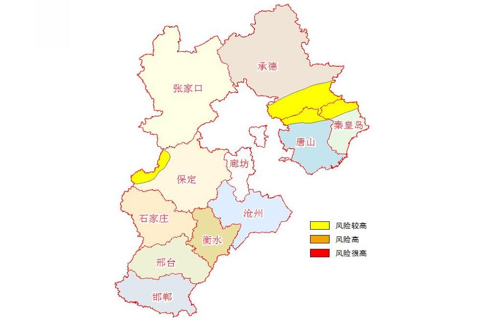 河北发布地质灾害气象风险黄色预警
