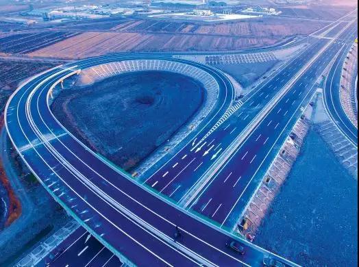 沿海高速公路曹妃甸支线正式建成通车