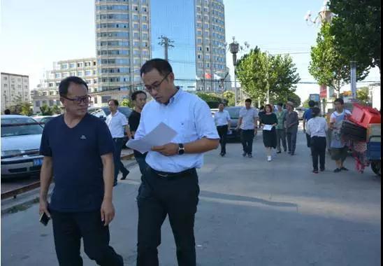 丰润副区长梁小波督导检查文明城市建设工作