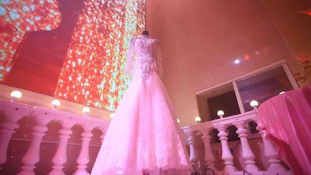 梦幻婚礼秀,超美!