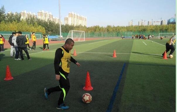 张家口市教师在足球教学基本功比赛中喜获佳绩