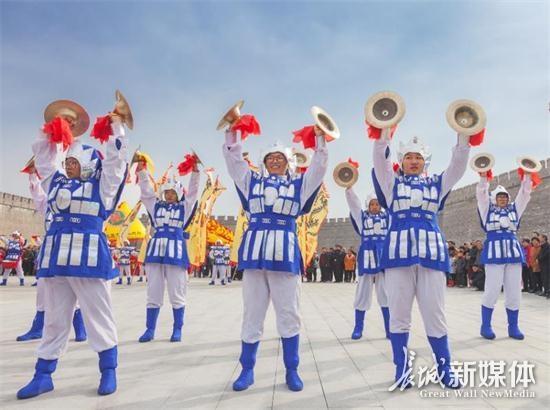 """正定县举办鼓文化艺术节暨""""古城杯""""鼓王争霸赛"""