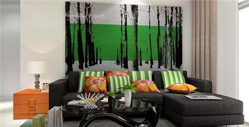 客厅装修墙纸配色秘诀
