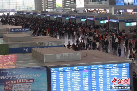 12月30日全国铁路发送旅客1140.2万人次