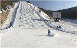 国际雪联自由式滑雪雪上技巧世界杯在崇礼开赛