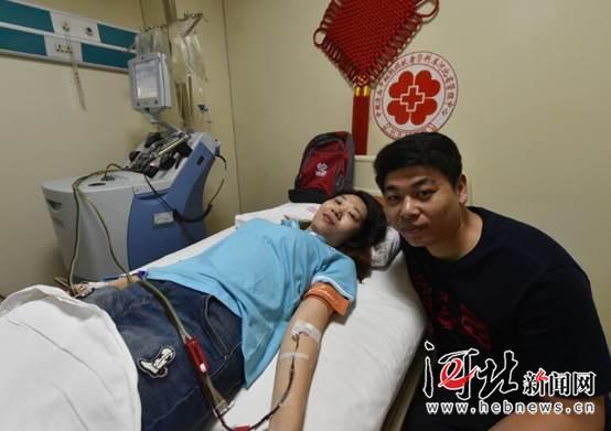 秦皇岛80后捐献造血干细胞